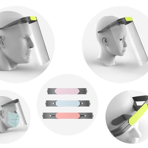 Pin | Mask | Face Shield Covid-19 | Free .STL