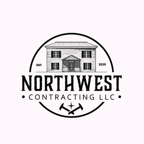 vintage logo for northwest