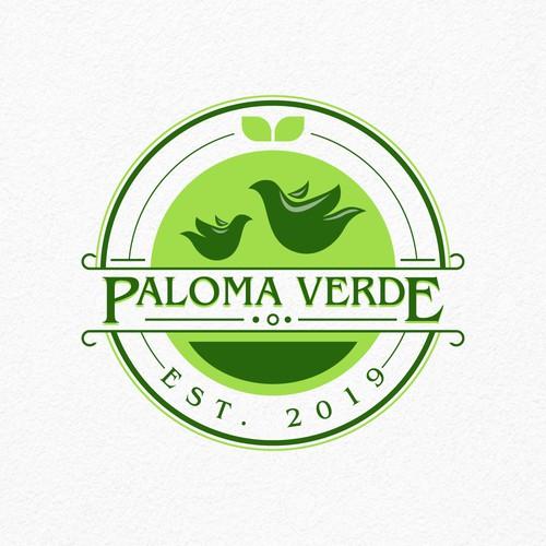 Paloma Verde Design Logo