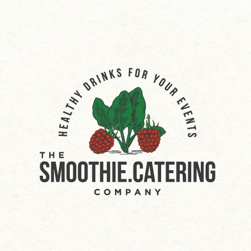 Logo design for smoothie catering company