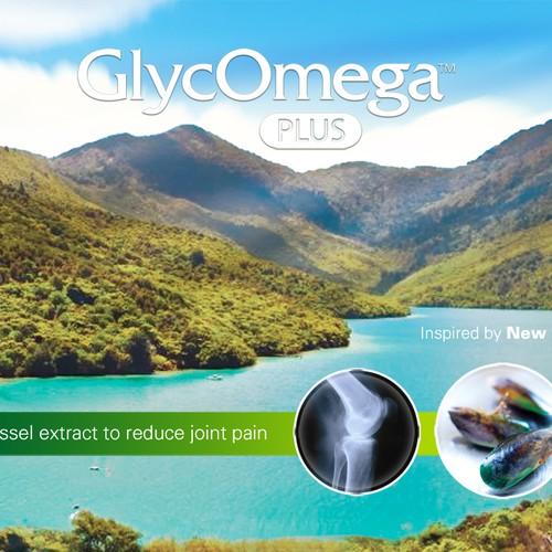 Glyc Omega Signage