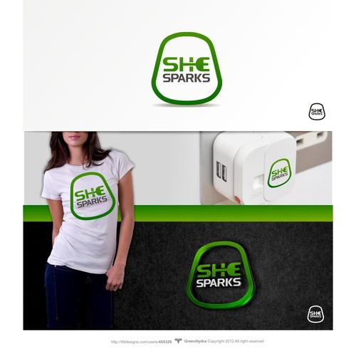 logo for She sparks