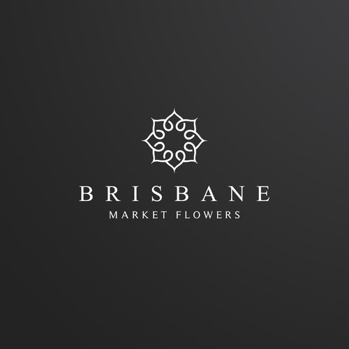 Wedding flower business Logo