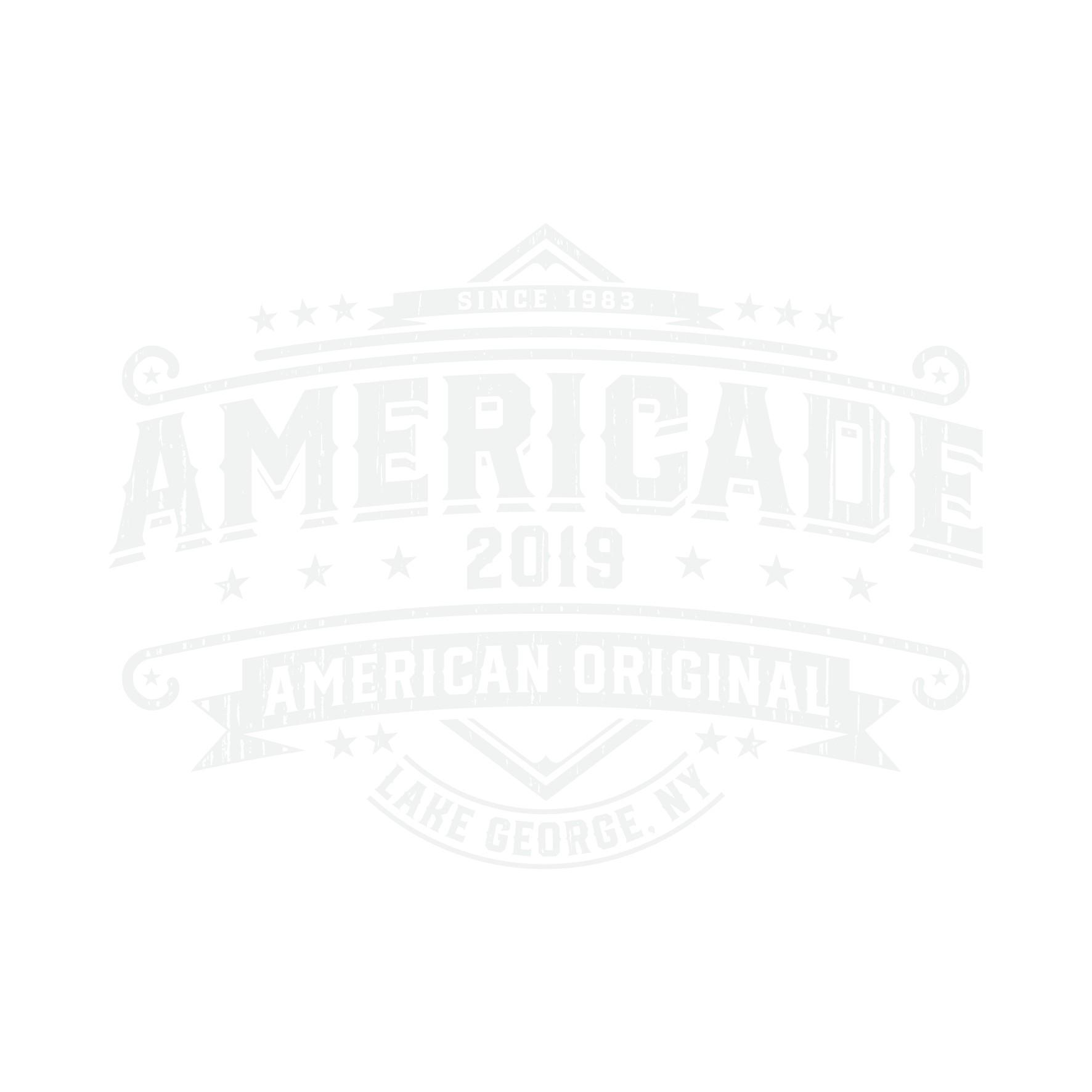 Beer Bottle label looking Tshirt for Americade