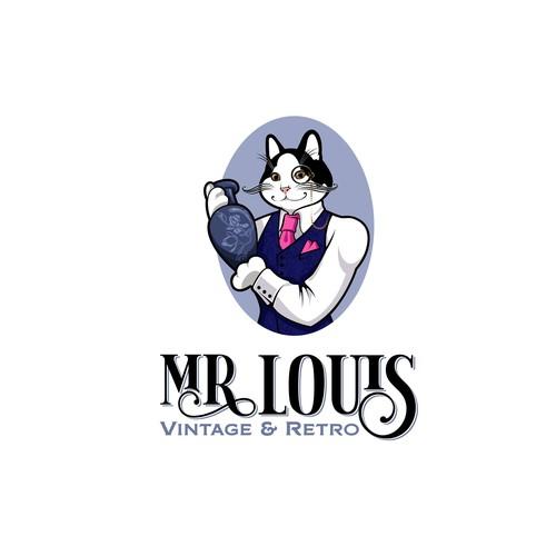 Logo for vintage'n'retro shop