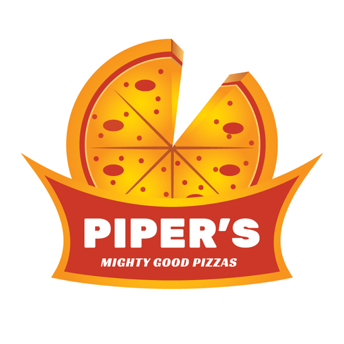 Create an eye-catching logo to entice customers to try our pizza.