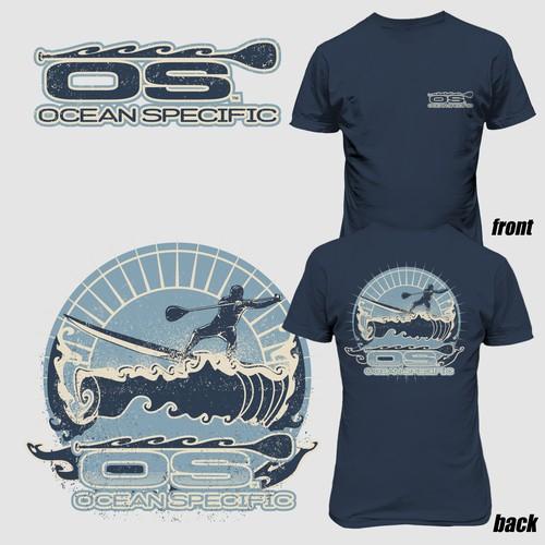 OCEAN SPECIFIC tshirt design