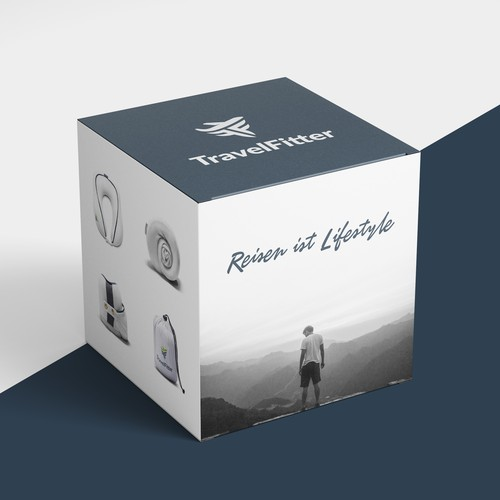 Travel Fitter - Box Design