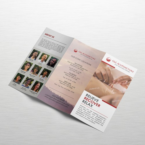 G&L Acupuncture Trifold Brochure