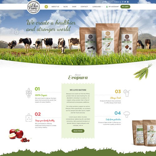 Organic Natural Protein Products