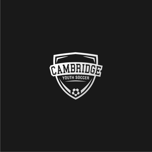 Simple modern logo for Cambridge Youth Soccer