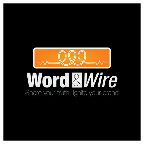 Logo concept for Word & Wire