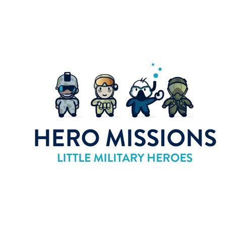 Hero Missions characters / Mascots
