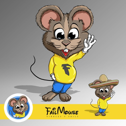 Mascot for Fail Mouse