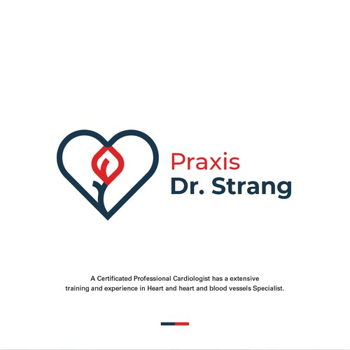 Brand Identity for Practical Dr. Strang specialist Cardiologist