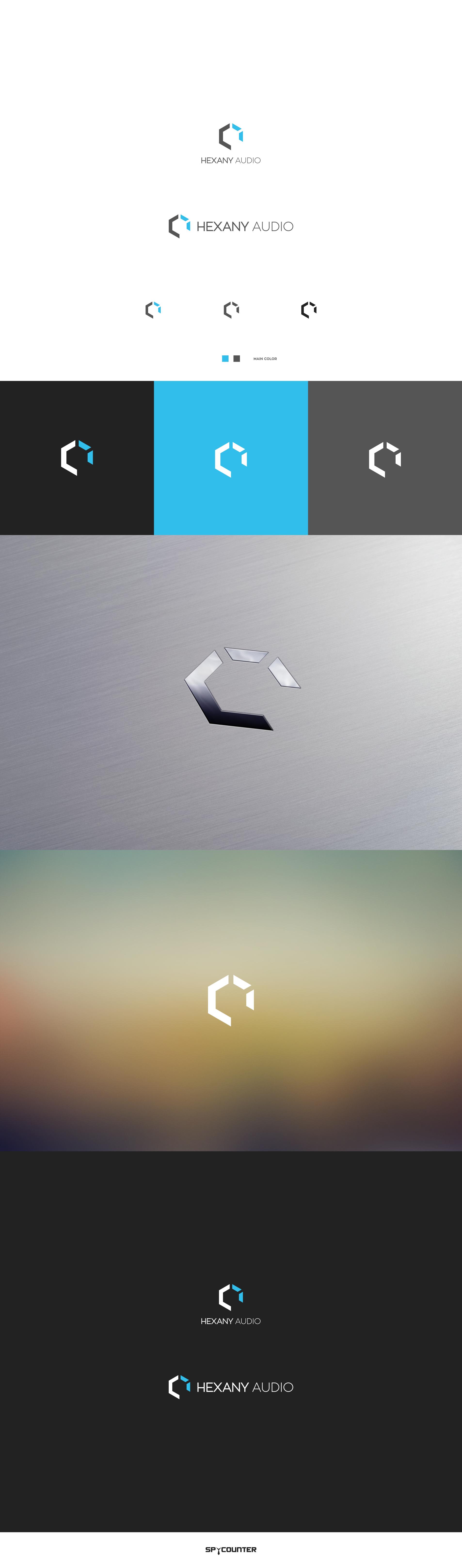 Design a modern new logo for Hexany Audio
