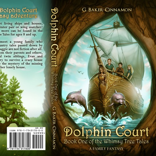 """""""Dolphin Court"""" book cover"""