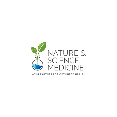 Logo concept for Nature & Science Medicine