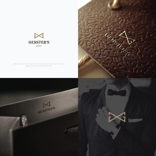 luxurious logo for Genster's