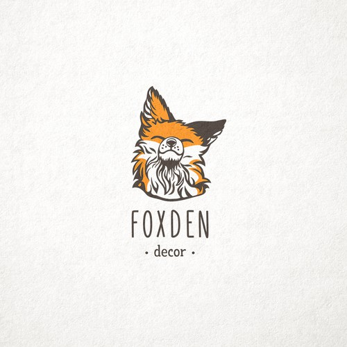 Logo concept for FoxDen Rustic Furniture