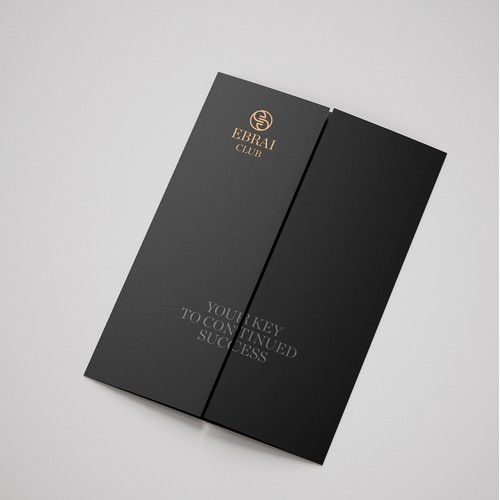 Luxury brochure for private club from England