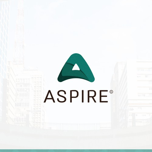Bold logo for ASPIRE