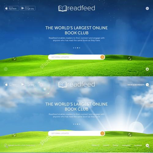 Animated Website design..