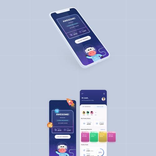 Fun chores Mobile App