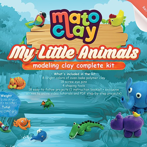 Modeling Clay Packaging