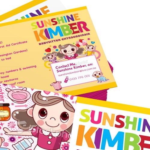 Postcard for Sunshine Kimber