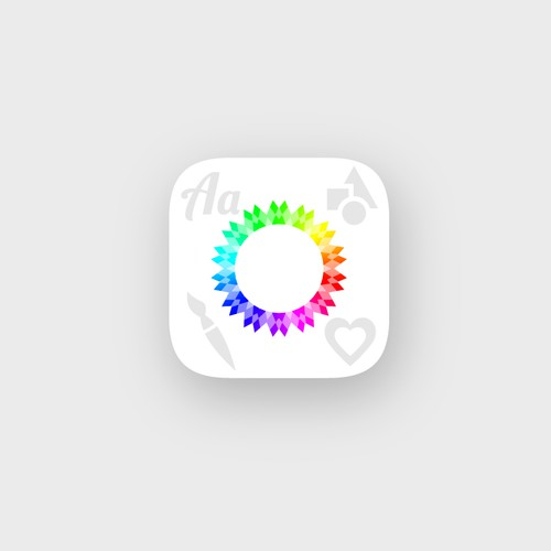 Creative app icon redesign