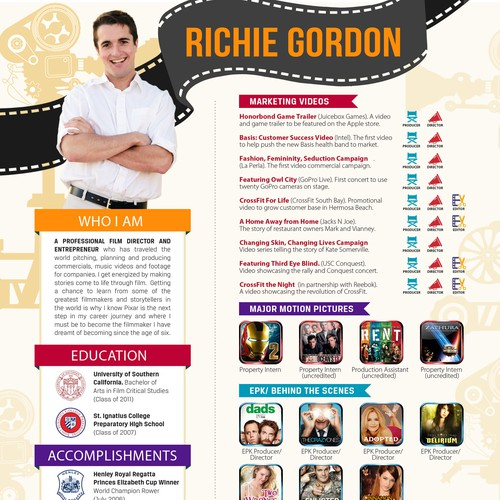 Richie resume