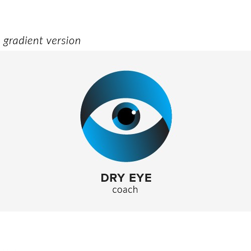 Logo design for Dry Eye Coach