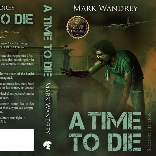 Book Cover for a Dragon Award Finalist