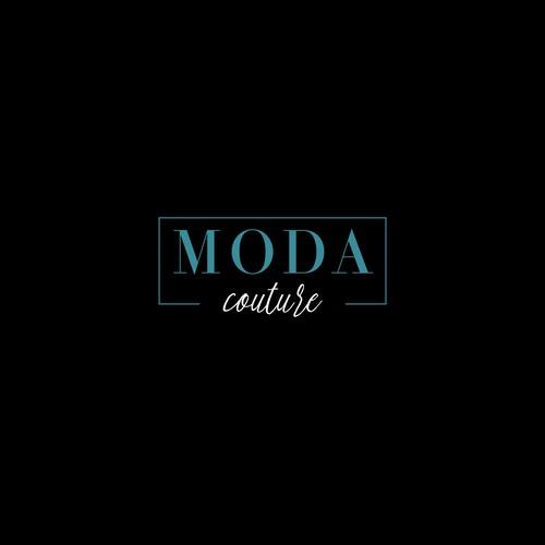 Luxurious Logo of Moda Couture