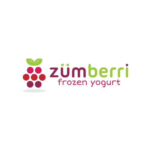 Logo design for Zumberri Frozen Yogurt.