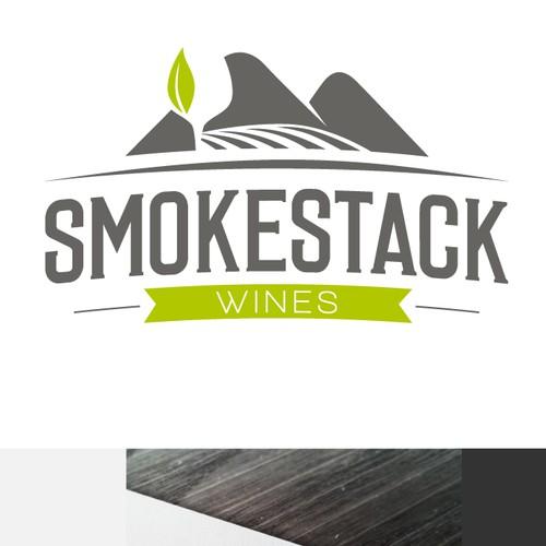 Wine Logo SMOKESTACK