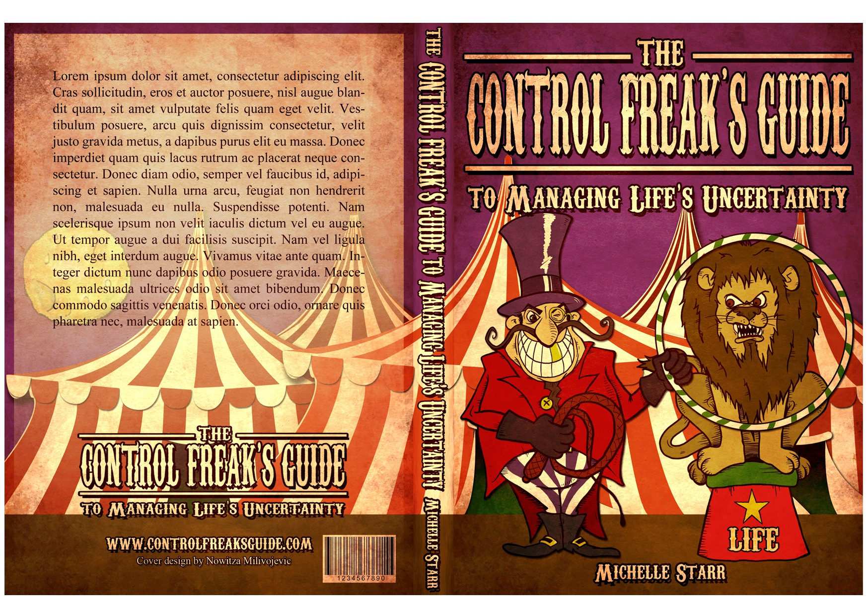 Create a humorous book cover (illustration) for Indie Author