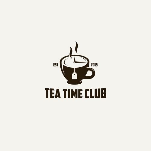 Logo for tea club