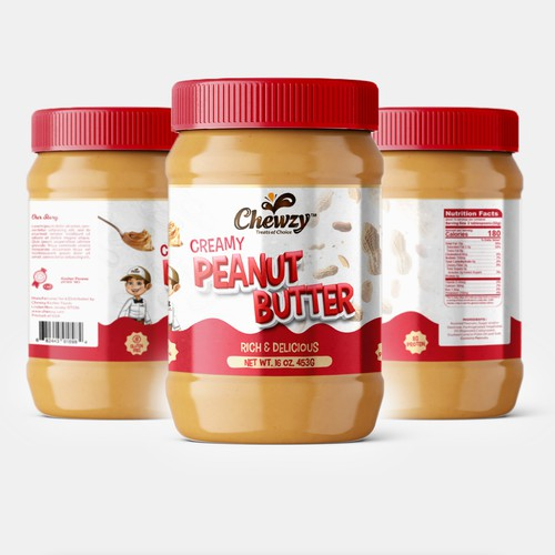 Peanut Butter Label Design