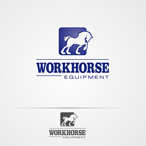 Logo for a construction firm