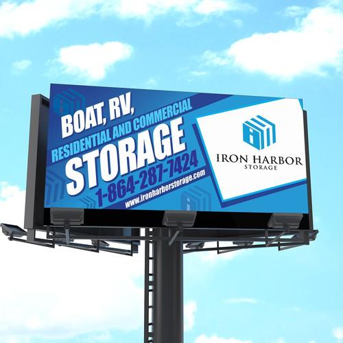 Road Side Billboard/sign for self storage