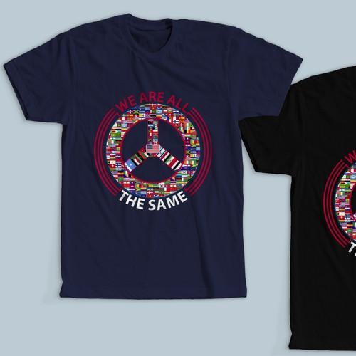 T shirt design for Alt-Immigration