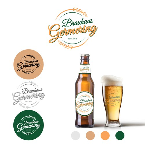 Logo concept for beer
