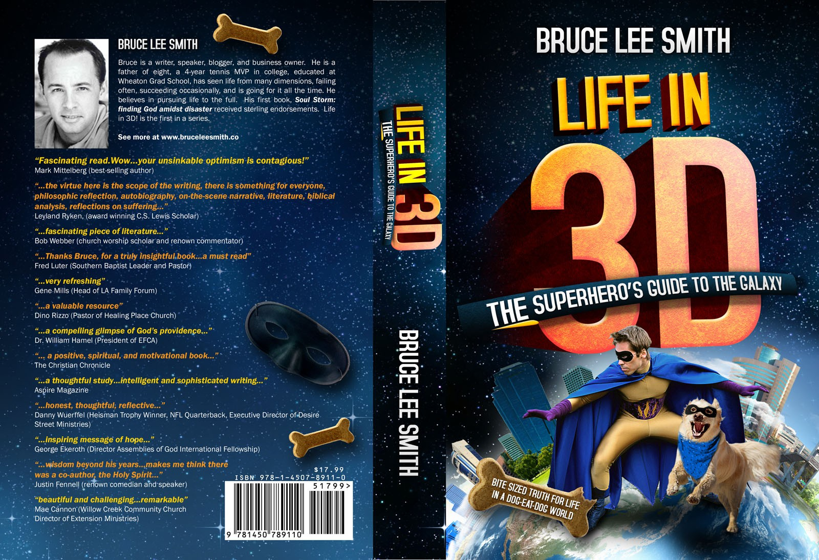 Help Bruce Lee Smith, Author with a new book cover design