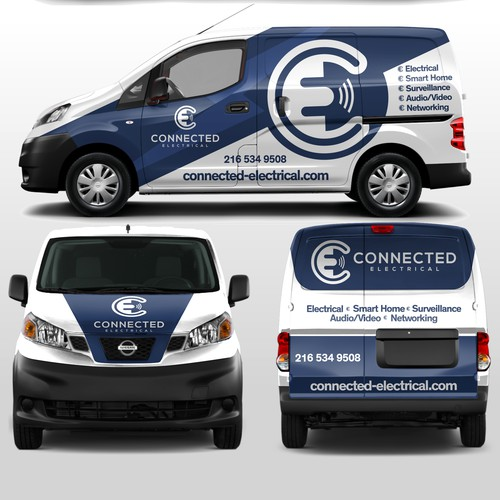 Van Wrap for Smart Home Electrical Co