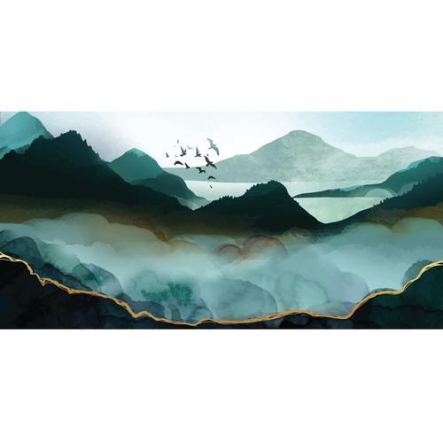 Aquarelle landscape