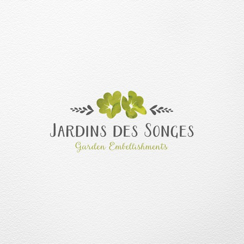 Logo concept for Jardin des Songes