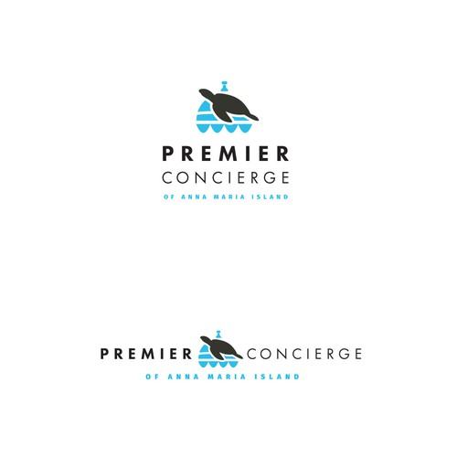 Logo for Premier Concierge Service on Anna Maria Island.