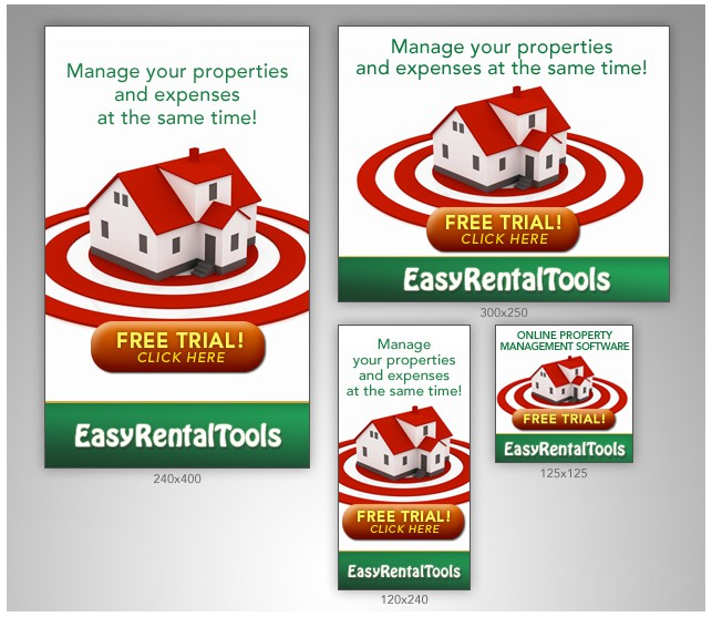 New banner ad wanted for EasyRentalTools